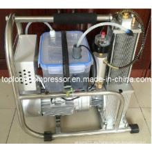 Bomba de llenado de alta presión del compresor de la presión del aumentador de presión del aire de Oilless sin aceite (Hq-0.03 / 300)