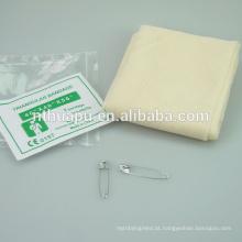 Atadura triangular de algodão medicinal