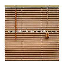 Decorative interior wooden blinds