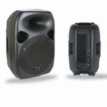 Speaker Cabinet, 15-inch Voice Coil, Made of Black ABS and Plastic, 8Ω Impedance, 250W Power
