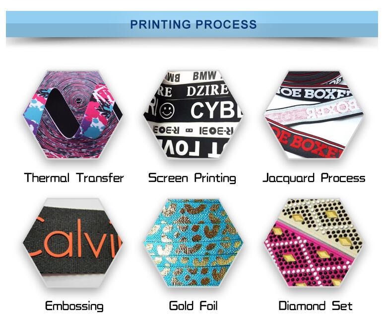 Printed Elastic Roll