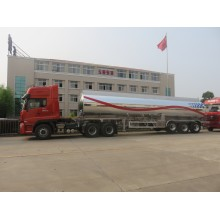 3 Axles DOT Aluminum Alloy Fuel Tank Semitrailer