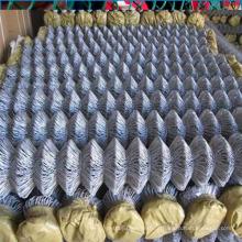 Diamond pvc revestido de malha de arame / link de vedação
