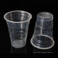 15 oz projetam copos descartáveis redondos plásticos do smoothie dos PP