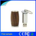 Natural Barril de madeira Wood USB Flash Drive 8GB