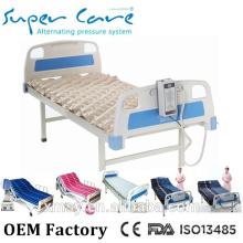 OEM&ODM medical air mattress anti decubitus mattress with aluminum pump