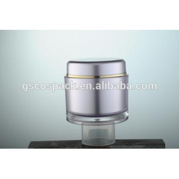 empty acrylic cream jar for face cream