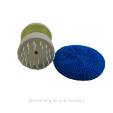 JML Kitchen ежедневно использовать пластиковые сетки очиститель очистки PP сетка очиститель с ручкой