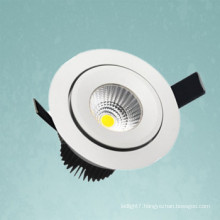 high power cob led downlight 20w 2000 lumen made in china
