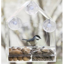 Removable Acrylic Window Bird Feeder (ymb6022)