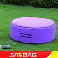 Urban outdoor furniture bean bag stool