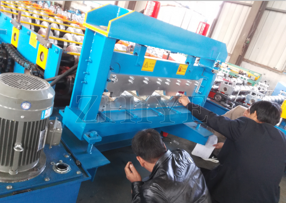 Metalowe Decking Panel Making Machine