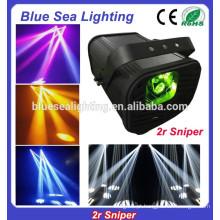 Efeito de palco luz 2r sniper dj scanner varredura iluminação discoteca luzes