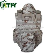 Alta qualidade colete à prova de balas do exército colete kevlar jaqueta chapa transportadora colete tático