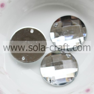 Good Quality Transparent Plastic Smooth 22mm Round Beads
