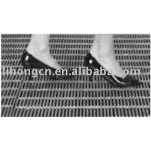 Piso de grade de aço, calha de grade de barras, piso de grade de barras, passarela de grade de aço, passarela de piso