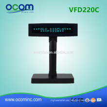 Display VFD220C POS Customer Pole Display de fuente pequeña VFD