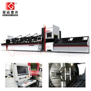 2000W CNC Fiber Laser snijmachine voor buis