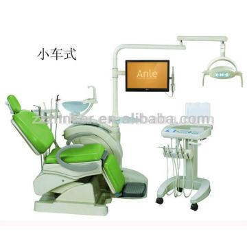 LK-A25 Wagen Typ Dental Stuhl AL Sanor'e Faltbarer Dentalstuhl mit Handcart