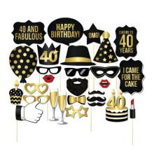 FQ brand barbe fête d'anniversaire se réunissent masque