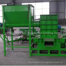 Usados máquinas de prensar de aparas de madeira Sawdust Compress