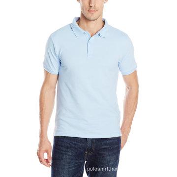 Men′s Retail Custom Pique Fabric Uniform Polo Shirt