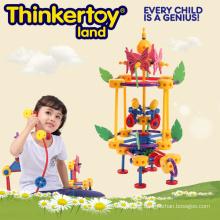 Mädchen Vergnügungspark Kunststoff Verriegelung Garten Spielzeug für Kinder