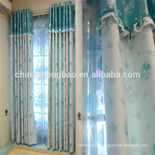 Blackout Printed Mouse Curtains for Kids Room Decoration