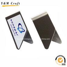 Marque-page de vente chaude / agrafes de livre en métal faites sur commande Ym1198