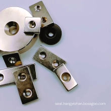 Disc ring Neodymium magnet with Countersunk screw hole