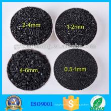Filtro de carbón activado antracita de alta adsorción / plantas de antracita lavadas