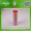 7.5X10  Red Paraffin Wax Pillar Candle