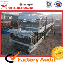 Russia color steel metal sheet roll forming machine