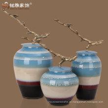 decoração de mesa de casa de alta qualidade vaso de cerâmica de design elegante moderno