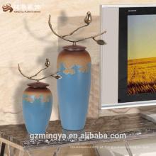 China cerâmica vaso hotel lobby mesa de café chinês porecelain antique casamento peça à venda