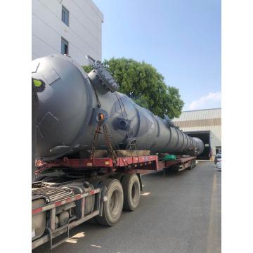 Carbon steel pressure vessel tower