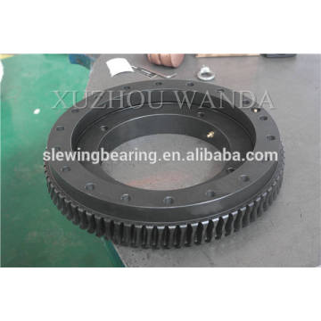 crane used black coating gear ring bearing