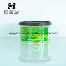 Parfum de voiture de parfum de couleur de conception de mode adaptée aux besoins du client