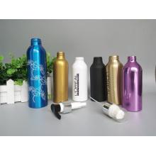 Distribuidor de loção para frasco de embalagem de cosméticos de alumínio