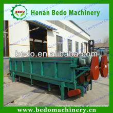 Machine de débosseur en bois de double rouleau de 6 mètres avec le moteur électrique