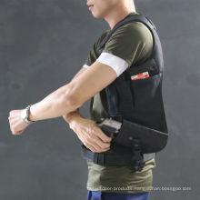 Nylon Fashionable Tactical Field CS Outdoor Single Shoulder Bag Hidden Style Black