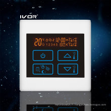 Thermomécanique programmable pour chauffage au sol Interrupteur tactile en plastique (SK-HV2300-L)