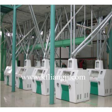 Línea productora de trigo / harina de maíz
