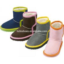 Mode Halbschnee Stiefel Frauen Süßigkeiten Farbe Winter Schnee Stiefel