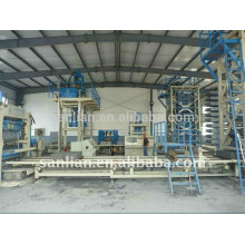 Bloque de cemento que hace la máquina QFT10-15