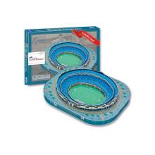 Venda quente de brinquedos educativos 92PCS Azul Stadium 3D Puzzle (10142944)