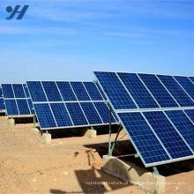 Sistemas solares home de 300W-10KW / painel solar + inversor solar + controlador do carregador + bateria do gel + racking solar