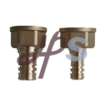 hot forging lead free brass barbed pex adapter