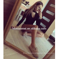 one pcs long sleeve jumpsuit new fashion halter black deep v neck sexy adult onesie with long sleeve