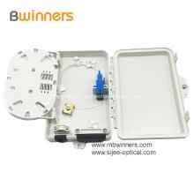 2 caixas da terminação da fibra óptica da montagem da parede do núcleo